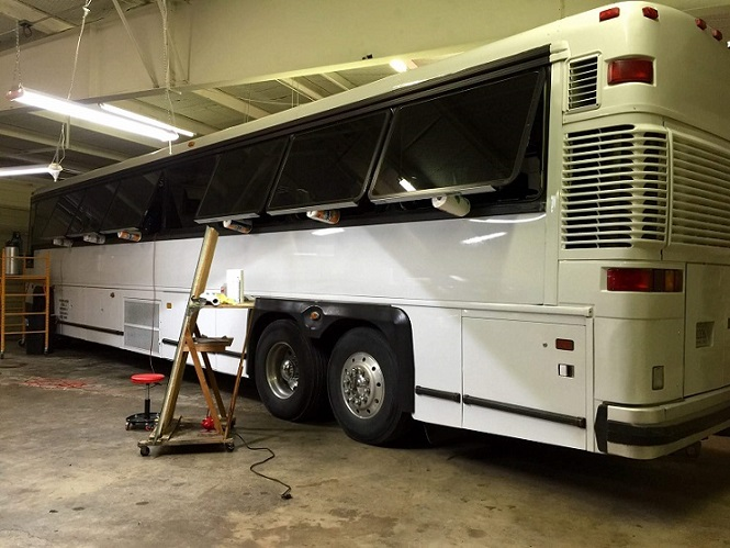 RV and Bus Window Tinting North Texas